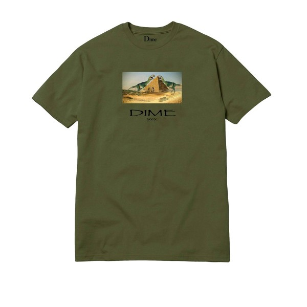 Dime Ancient T-Shirt (Olive)