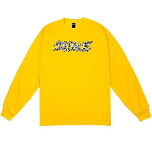 Dime Blade Long Sleeve T-Shirt (Gold)