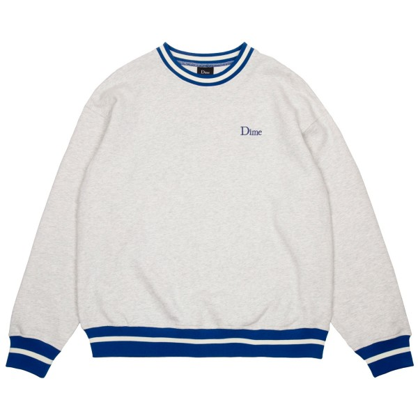 Dime Classic French Terry Crew Neck Sweatshirt (Ash)