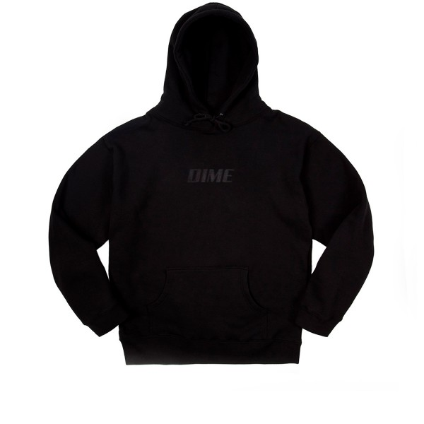 Dime Fast Pullover Hooded Sweatshirt (Black)