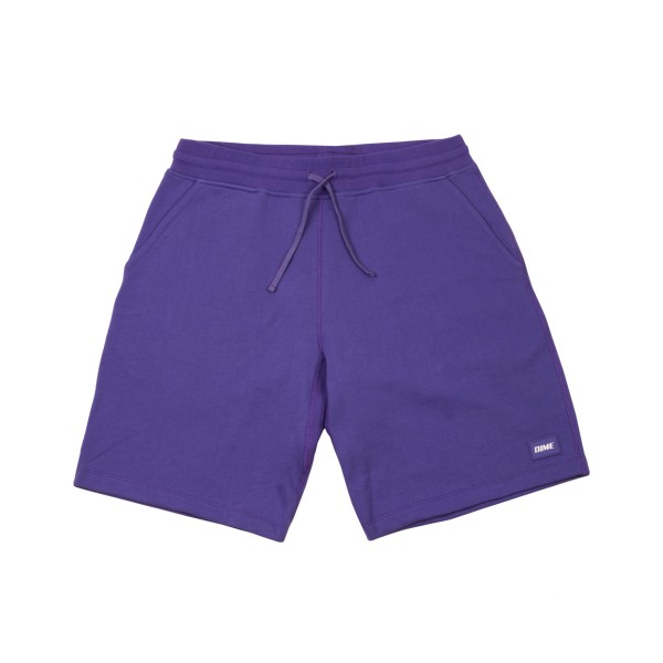 Dime French Terry Shorts (Purple)