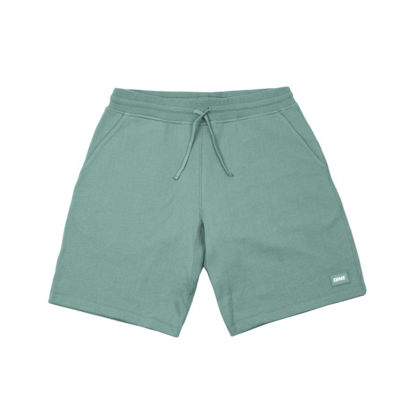 Dime French Terry Shorts (Washed Green)