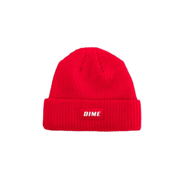 Dime Heavyweight Beanie (Red)
