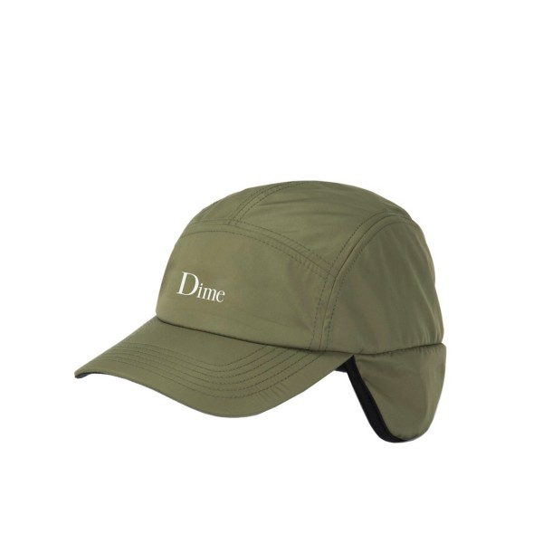 Dime Hunter Fleece Cap (Olive)