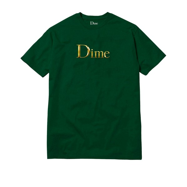 Dime Legendary Logo T-Shirt (Emerald Green)