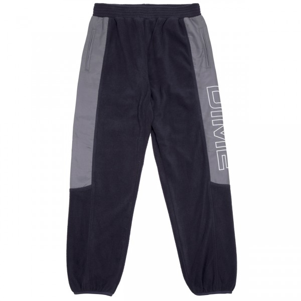 Dime Polar Fleece Track Pant (Navy/Charcoal)