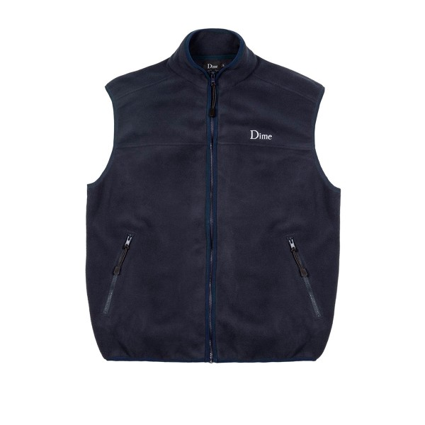 Dime Polar Fleece Vest (Navy)