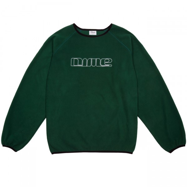Dime Raglan Crew Neck Polar Fleece (Forest Green)