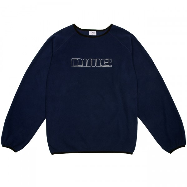 Dime Raglan Crew Neck Polar Fleece (Navy)