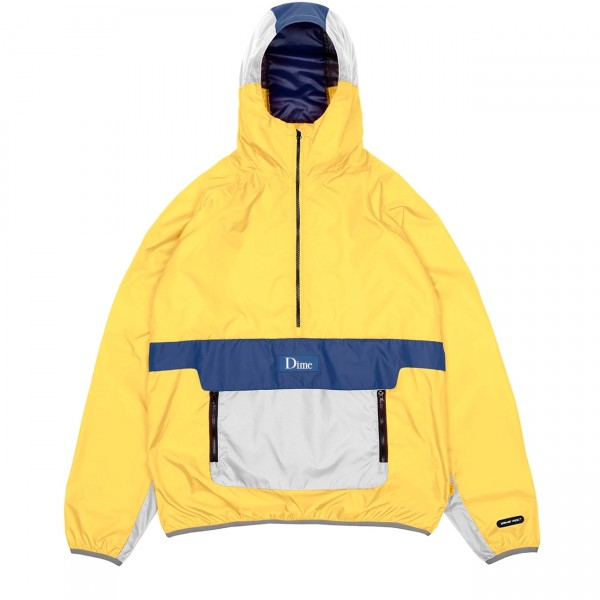 Dime Ripstop Pullover Hooded Jacket (Yellow)