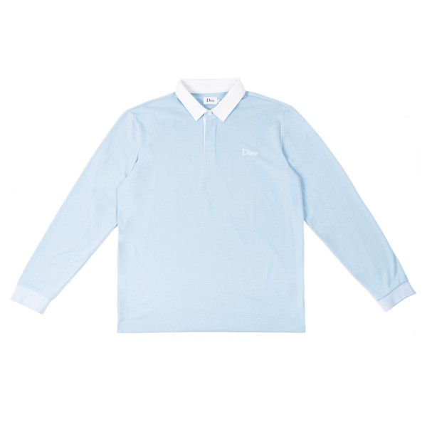 Dime Rugby Shirt (Baby Blue)