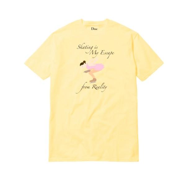 Dime Skate & Destroy T-Shirt (Yellow)