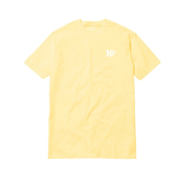 Dime x Quartersnacks T-Shirt (Yellow)