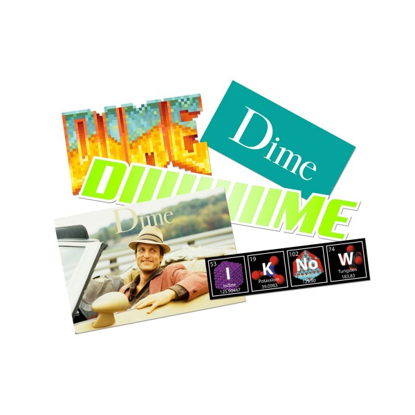 Dime Sticker Pack 2 (Multi)