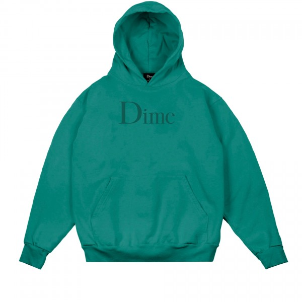 Dime Classic Logo Pullover Hooded Sweatshirt (Emerald)