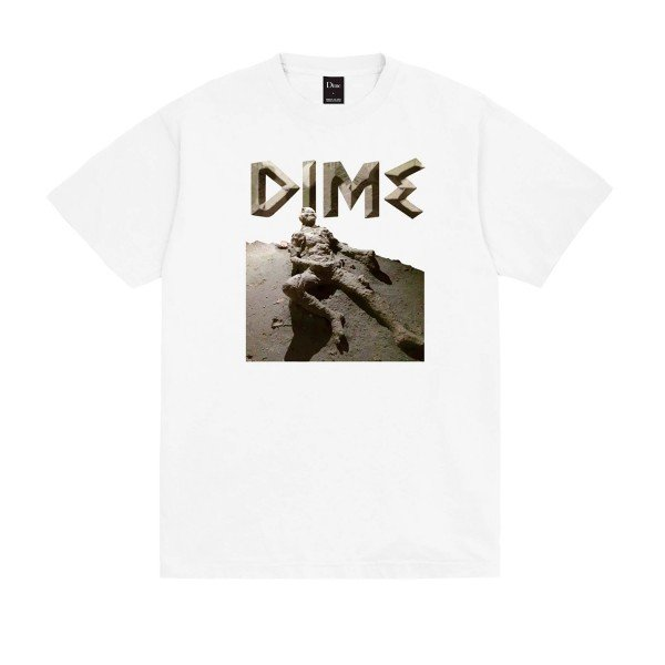 Dime Last Try T-Shirt (White)