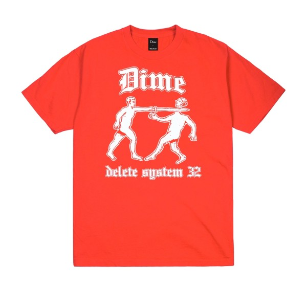 Dime Delete T-Shirt (Red)