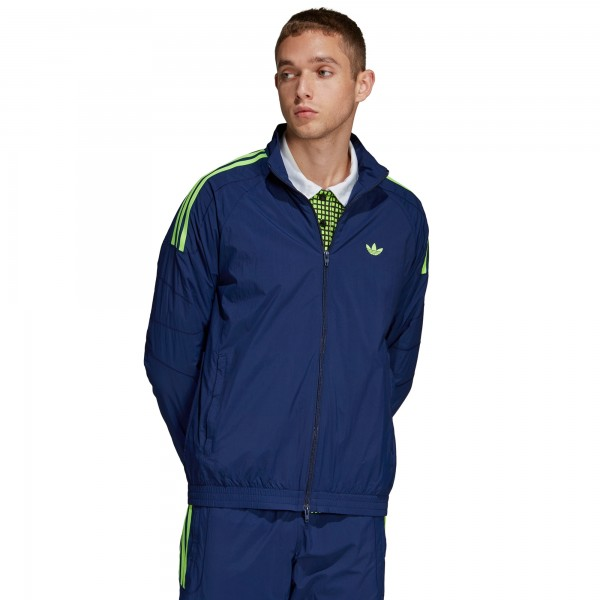 adidas Originals Flamestrike Woven Track Jacket (Dark Blue)