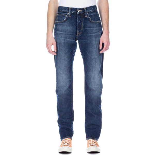 Edwin ED-55 63 Rainbow Selvage 12.8oz (Blue Moriko Wash)
