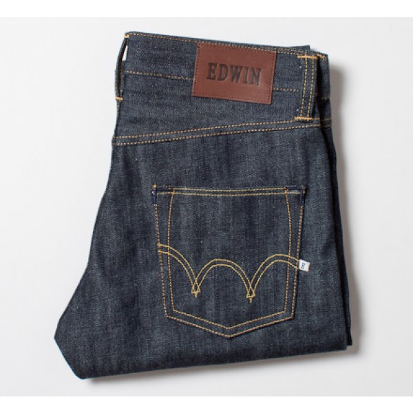 Edwin ED-55 Red Selvage 14oz (Blue Unwashed)