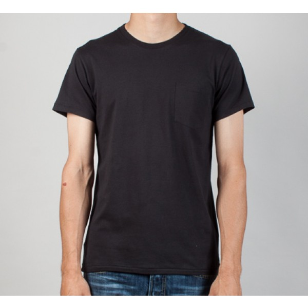Edwin Pocket T-Shirt (Washed Black)