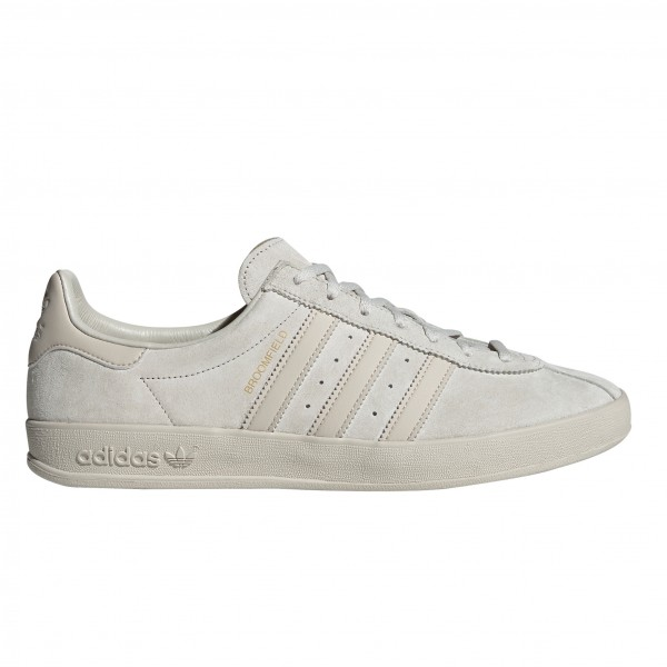 adidas Originals Broomfield (Raw White/Clear Brown/Gold Metallic)