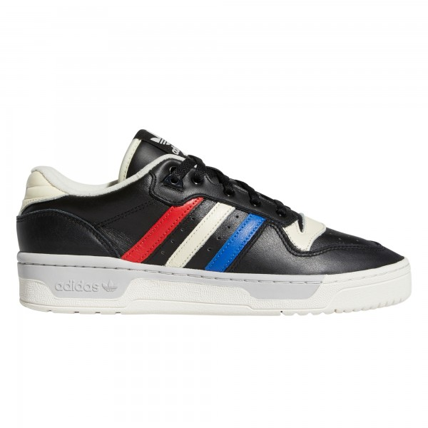 adidas Originals Rivalry Low (Core Black/Cloud White/Cream White)