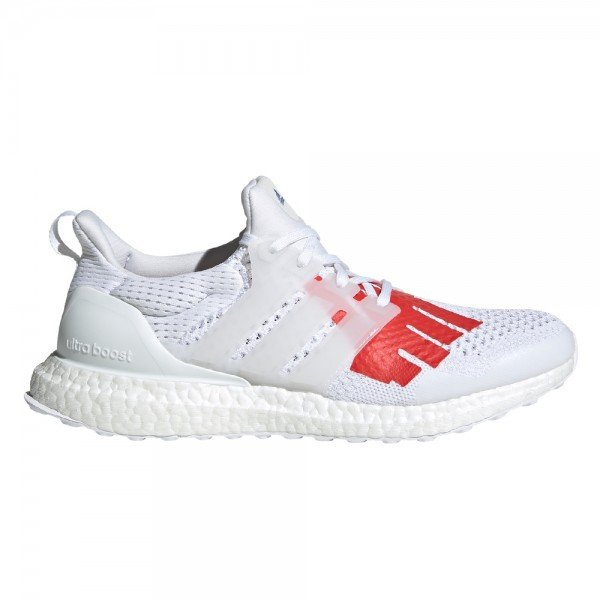 adidas by UNDEFEATED UltraBOOST UNDFTD 1.0 'Stars and Stripes' (Weiss-Schwarz/Weiss-Schwarz/Red)