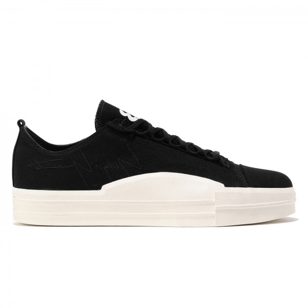 adidas Y-3 Yuben Low (Black/Black/Footwear White)