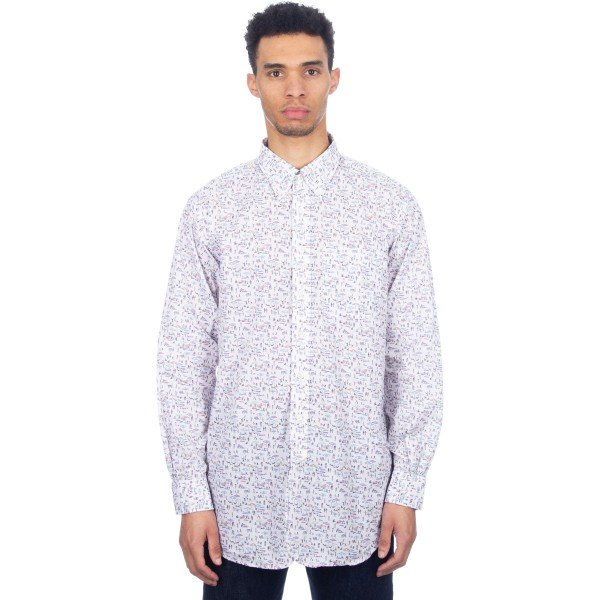 Engineered Garments 19 Century BD Shirt (Multi Color Beach Print)