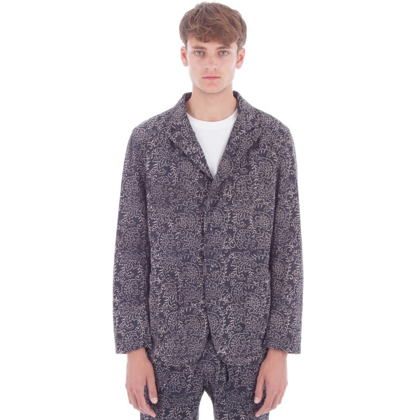 Engineered Garments Bedford Jacket (Navy Paisley Twill)