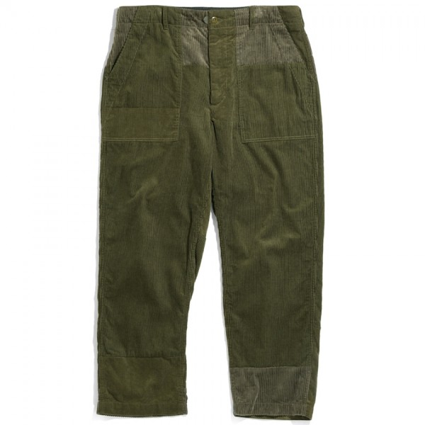 Engineered Garments Fatigue Pant (Olive Cotton 8W Corduroy)