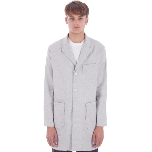 Engineered Garments Lab Shirt (Heather Grey Light Weight Twill)