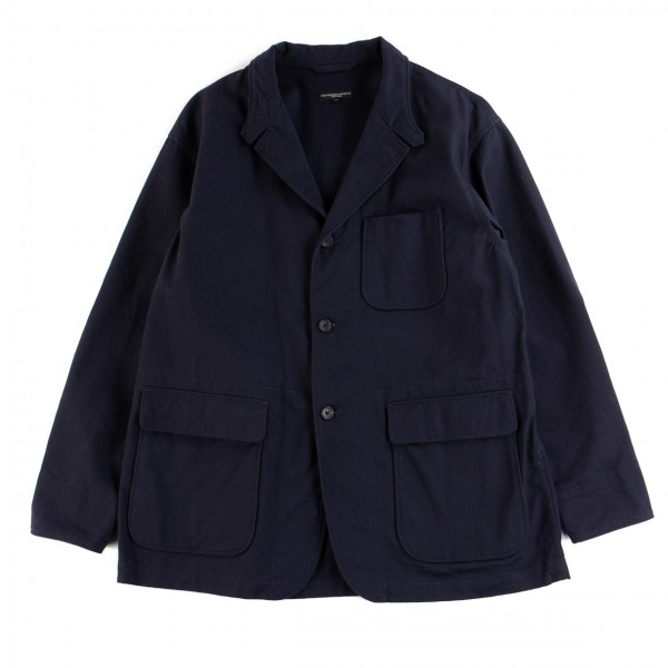 Engineered Garments Loiter Jacket (Dark Navy Cotton Heavy Twill)