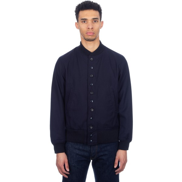 Engineered Garments TF Jacket (Dark Navy Uniform Serge)