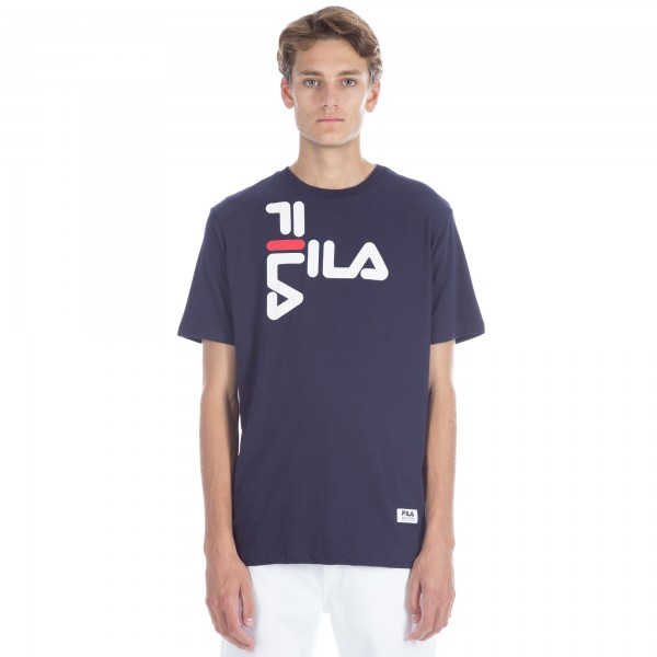 FILA Black Line Diago T-Shirt (Peacoat)