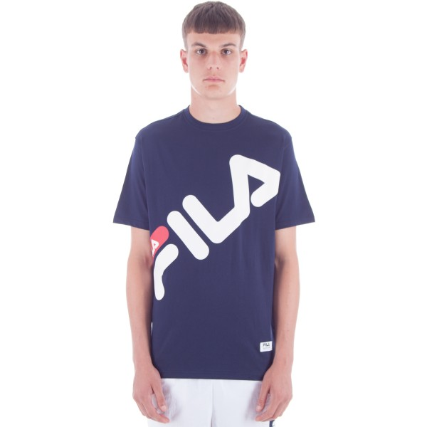 FILA Black Line Marco Graphic T-Shirt (Peacoat)