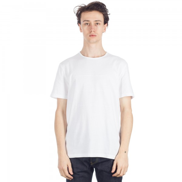 Folk Deboss T-Shirt (White)