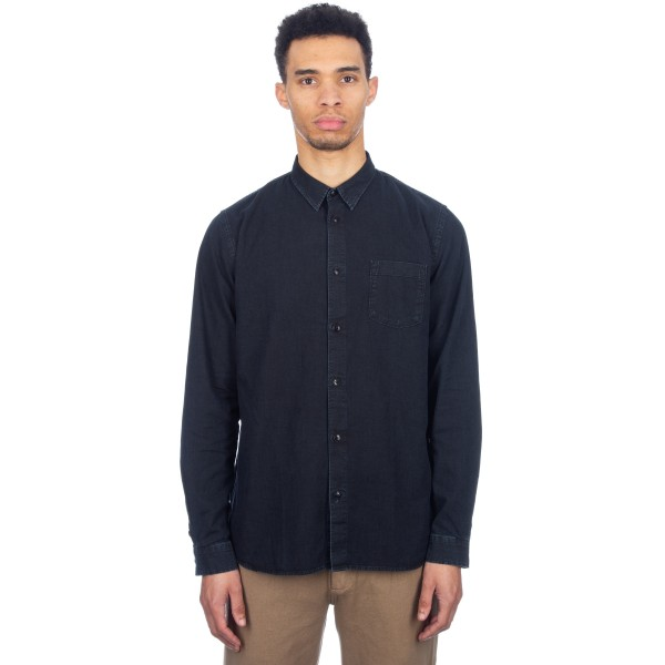 Folk Degree Shirt (Black Denim)