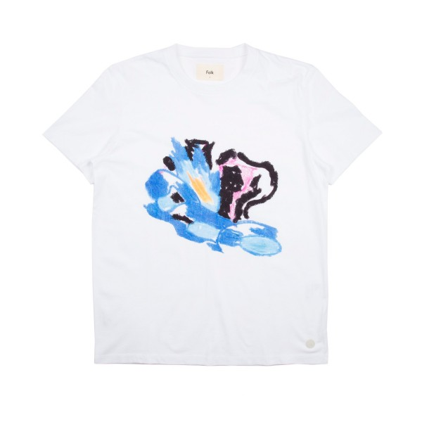 Folk Flare T-Shirt (White)