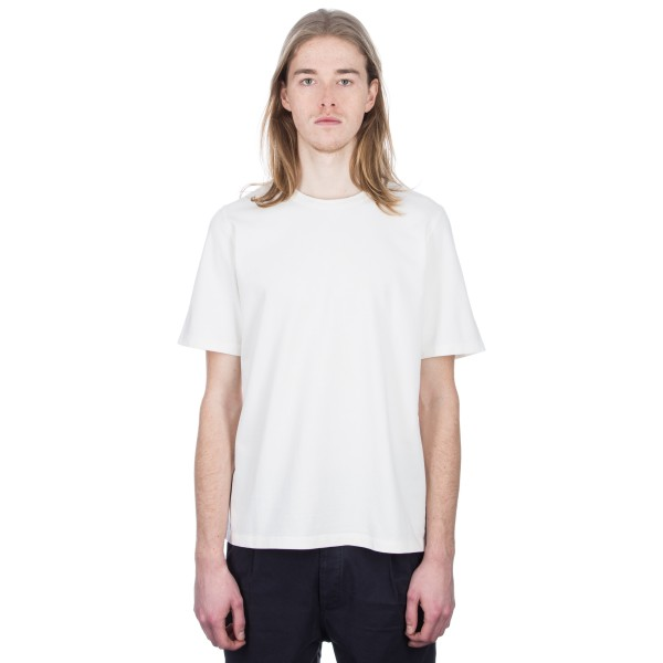 Folk Panel Stitch T-Shirt (White Washed Sand)