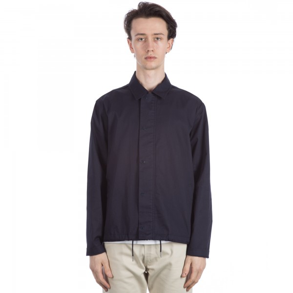 Folk Pebble Jacket (Navy Drill)