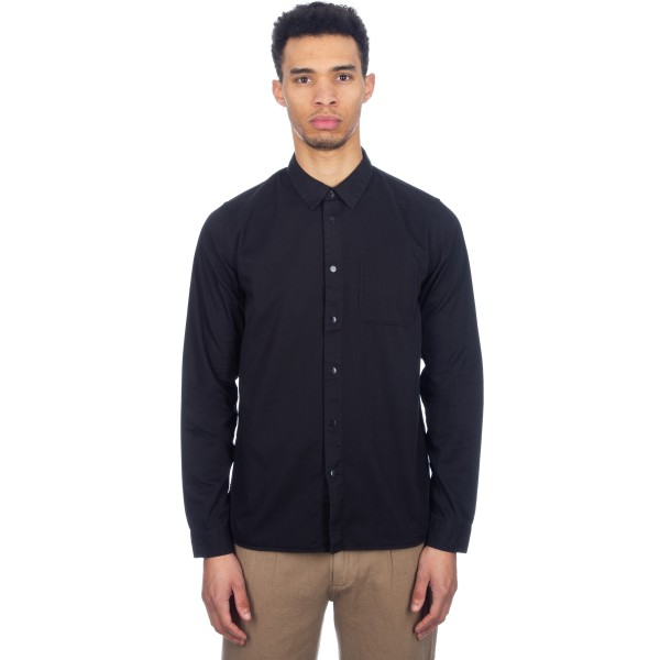 Folk Pop Stud Shirt (Nearly Black)