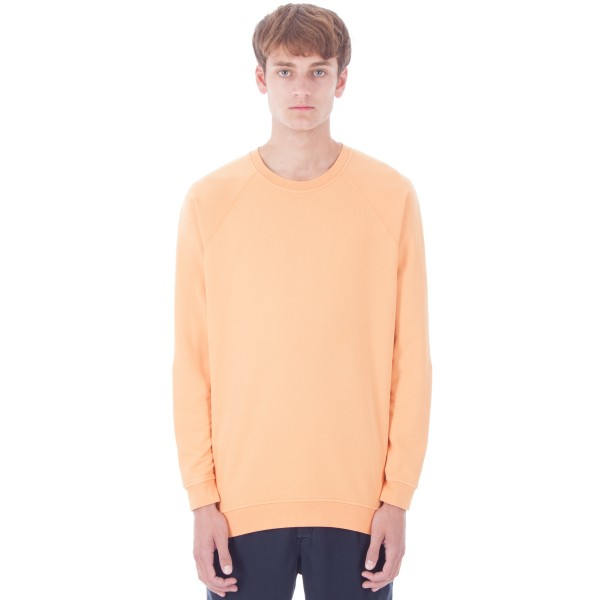 Folk Rivet Crew Neck Sweatshirt (Bitter Orange)