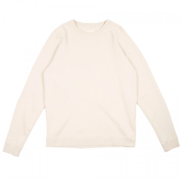 Folk Rivet Crew Neck Sweatshirt (Off White)