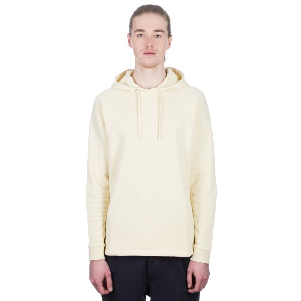 Folk Rivet Pullover Hooded Sweatshirt (Soft Yellow)