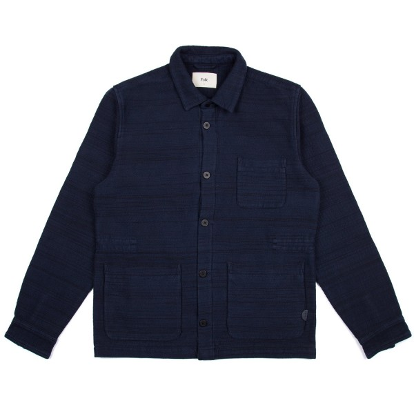 Folk Assembly Jacket (Navy Texture)
