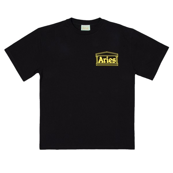 Aries Logo T-Shirt (Black/Yellow)