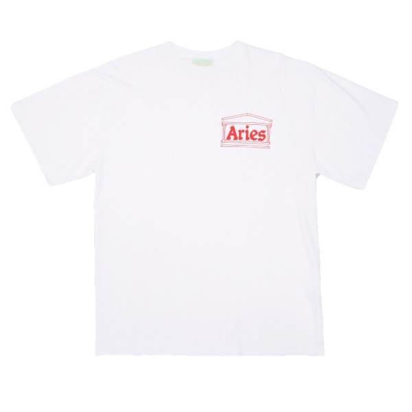 Aries Logo T-Shirt (White/Red)
