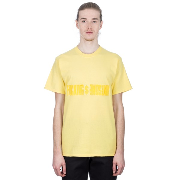 Fucking Awesome GDP T-Shirt (Yellow)